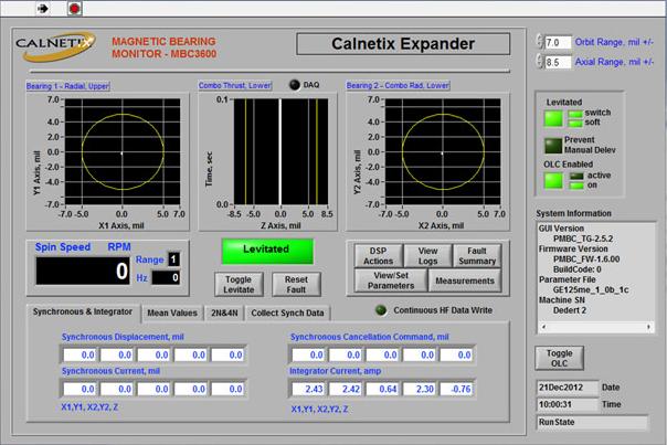 Magnetic Bearings High Speed Rotating Machinery
